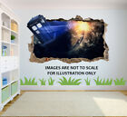 Dr Who Tardis 3d Breakout Effect Graphic Wall Vinyl Sticker Decal