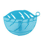 UK Kitchen Silicone Food Pan Clip-On Snap Strainer Clip Colander Liquid Separate