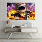 1 Panel Picture One Piece Anime Poster Painting Print On Canvas Wall Art Decor