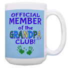 Grandparent Announcement Gifts Official Member of the 15oz Coffee Mug Tea Cup
