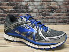 Brooks Mens Adrenaline GTS17 Anthracite Electric Brooks Blue Silver Running