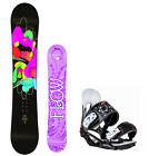 2019 FLOW Pixi 144cm Women's Snowboard+Head Women's Bindings NEW 4 YR WARRANTY