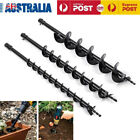 40/60/80mm Earth Auger Drill Bit Fence Borer For Garden Petrol Post Hole Digger