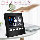 Внешний вид - Digital Display Thermometer humidity clock Colorful LCD Alarm Calendar Weather