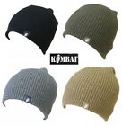 Mens Army Combat Military Tactical Beanie Winter Bob Work Hat Black Green Grey