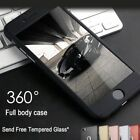 Luxury UltraThin Shockproof Hybrid 360 Case Cover For Apple iPhone 8