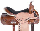 Barrel Racing Saddle 16 14 15 Western Trail Racer Leather Blingy Horse Tack Set