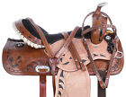 14 15 16 17 Barrel Racing Saddles Trail Riding Leather Western Show Horse Tack