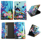 TABLET CASE FOR 7 UNIVERSAL GALAXY TAB 4 ROTATING PU LEATHER CARD CASH  POCKET
