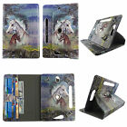 TABLET CASE FOR 7 UNIVERSAL RCA MERCURY ROTATING PU LEATHER CARD CASH POCKET