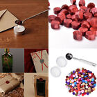 230 Pieces Octagon Wax Seal Beads Stamp Sealing Wax Beads Melting Spoon Kit E-0