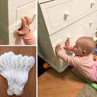 10xBaby Child Cupboard Cabinet Safety Lock Door Drawer Fridge Silicone Protector