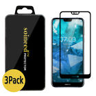 {1-10 Pack} SOINEED® Nokia 7.1 FULL COVER Tempered Glass Screen Protector