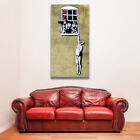Banksy Canvas Print Painting Naked Man Hanging Home Decor