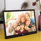 """12"""" 16MB HD Digital Photo Frame Picture Alarm Clock Movie Player&Remote FR"""