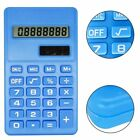 8 Digits Calculator LCD Display Silicone Button Battery Operated  High Quality