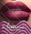 New AVON True Colour Luminous Velvet Lipstick SAMPLES Soft-Metallic MATTE Finish
