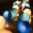 20 LED Colorful Cotton Ball LED String Christmas Wedding Party Fairy Lights 2019