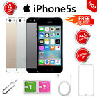 Apple Iphone 5s 16gb 32gb 64gb Gold/grey/silver Gsm Unlocked Mobile Smartphone
