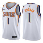 Devin Booker #1 Phoenix Suns Men's White Statement Edition Jersey