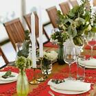 Set+Of+Red+Coasters+%26+Placemat+Set+Felt+SnowFlake+Christmas+Dinner+Table+Napkins