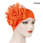 Women Lace Flower Ruffle Muslim Hat Cancer Chemo Cap Turban Hair Loss Caps