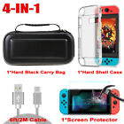 Hard EVA Carry Case Bag + Shell Cover + Ladekabel + Schutz für Nintendo Switch