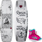 Ronix Quarter 'Til Midnight Wakeboard w- Luxe Bindings Womens