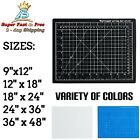 Cutting Mat Self Healing Black Blue Clear Reversible Multi Purpose Craft Supply
