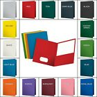 Folders Twin Pocket Textured Paper Letter Size 25 Pieces 50 Pieces Storage