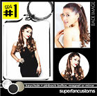Ariana Grande KEYCHAIN + BUTTON or MAGNET or MIRROR badge pin pinback #1882
