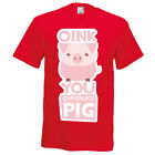T- Shirt  TEE * HIPSTER OINK You Capitalist PIG * MINT size S up to XXL