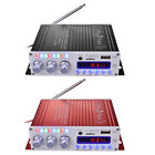 DC 12V 20W 20W Auto Car Home Bluetooth FM Stereo Audio Amplifier AMP Black/Red