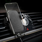 Qi Wireless Fast Car Charger Stand Air Vent Auto Mount Holder For Samsung S9+ S8