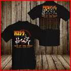 KISS Band T-Shirt End Of The Road Farewell Tour 2019 Concert Music Fan Black S-6 image
