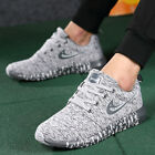Mens Trainers Slip On Memory Foam Casual Walking Running Gym SPORT Shoes Size UK