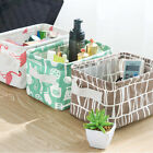 Folding Cloth Storage Box Cupboard Clothing Cloth Storage Cartoon Small Basket
