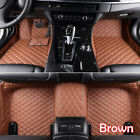 Leather Car Floor Mats for BMW X5 Series F15  E70  4 doors 07 18 Carpets Liner