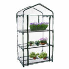 2019 Shelves Mini Greenhouse Outdoor Indoor Clear PVC Cover Roll Up