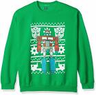 Transformers Optimus Prime Ugly Christmas Sweater Crew Neck Adult Fleece