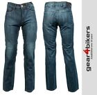 Richa Hammer Aramid Lined Armoured Jean Blue Motorcycle Pant Pants Jeans Denim
