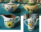 STANGLE USA POTTERY TEAPOTS GREEN AND WHITE PICK ONE