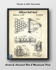 Billiard Ball Rack Patent Art Print  -  1969 Pool Ball Rack Patent Poster $5.09 USD on eBay