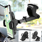 Gravity Car Mount Qi Wireless Charger Charge Pad Cell Phone Holder Stand FJ