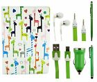 Universal Accessory Bundle Case Pack Fits Medion LifeTab P8524 8 Inch Tablet