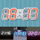 Digital LED Light Table Desk Night Wall Clock Alarm Watch 24/12 Hour Display