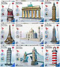 3D Puzzle Buildings Brandenburg Gate Tower Bridge Big ben Eiffel Empire State