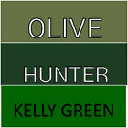 Queen Deep Pocket OLIVE KELLY & HUNTER GREEN SHEETS WON'T POP OFF ALL QUEEN Beds image