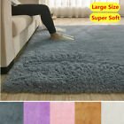Kyпить Fluffy Rugs Anti-Skid Shaggy Area Rug Dining Room Home Bedroom Carpet Floor Mat на еВаy.соm