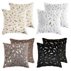 "1 2pcs 18"" Soft Faux Fur Velvet Throw Pillow Case Cushion Sofa Bed Cover Square image"